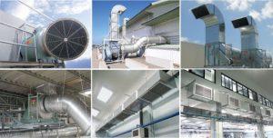hệ thống lọc gió nhà xưởng
