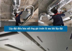 sửa chữa lắp đặt điều hòa ống gió