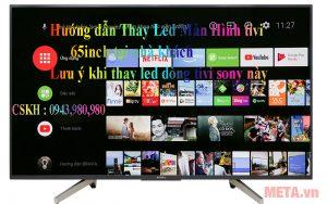 Thay màn hình tivi sony tại nhà