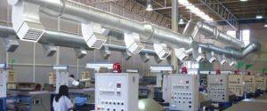 lắp đặt hệ thống thông gió cho nhà xưởng
